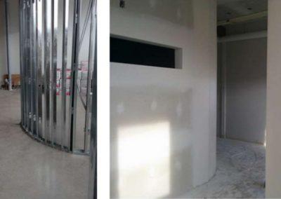 Installation de système intérieur (avant et après) - Rénovation et Construction GSL (Système intérieur Terrebonne)